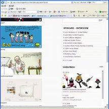webデザイン見本 …