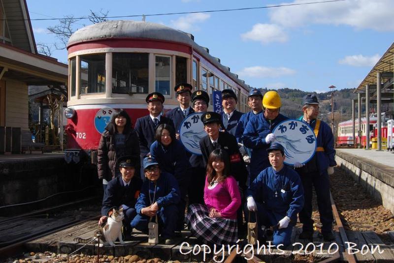 駅長猫コトラの独り言~旧 片上鉄道 吉ヶ原駅勤務~-NostalgicTrainの取材がありました
