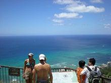 夫婦世界旅行-妻編-頂上からの眺め