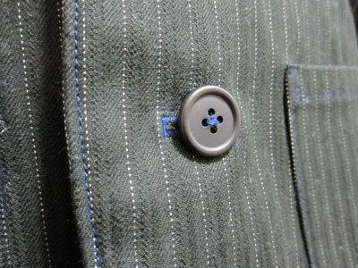 のほほん日記 in 大阪-スーツ ステッチ