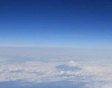 miyatake-宮武--飛行機からの富士山