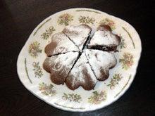 我が家のちびっこギャング-バレンタインケーキ