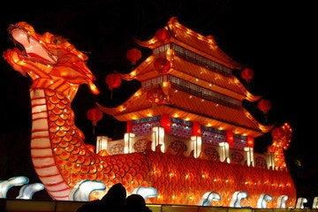 中国大連生活・観光旅行通信**-労働公園 春節