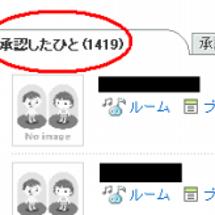 アメンバー1400人…