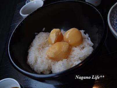 Nagano Life**-栗ご飯