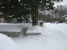 北欧からコンニチワ-雪かき・2
