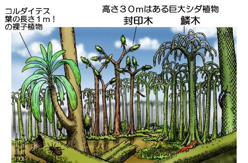 川崎悟司 オフィシャルブログ 古世界の住人 Powered by Ameba-石炭紀の大森林