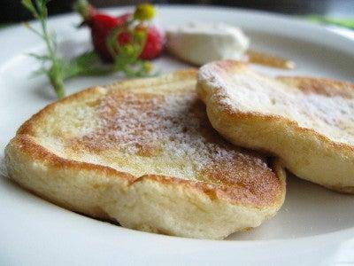 *ふわっふわっマスカルポーネかリコッタチーズのパンケーキ* レシピ|あとあとかとか。