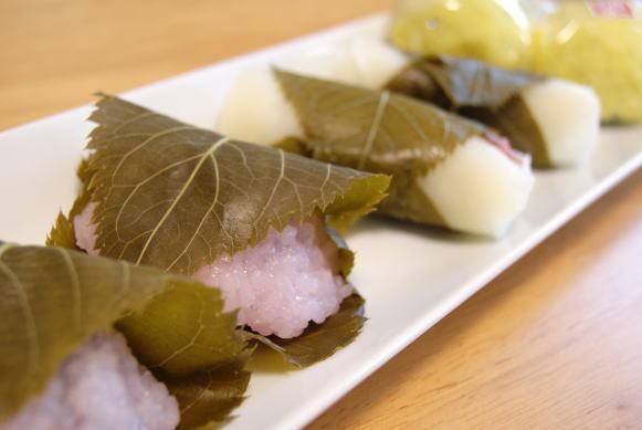 食べて飲んで観て読んだコト-桜餅