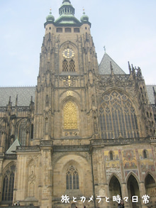 旅とカメラと時々日常-聖ヴィート大聖堂