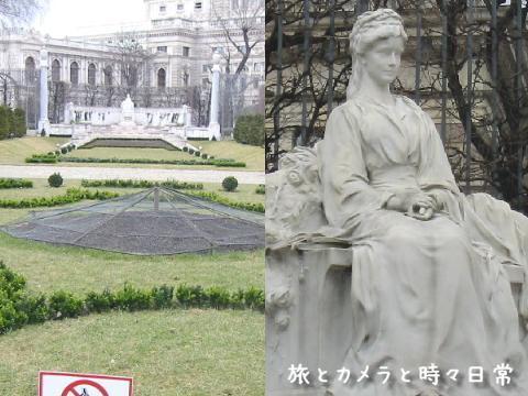 旅とカメラと時々日常-エリザベート像