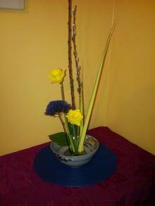 アメリカ~NYの田舎生活-ikebana3