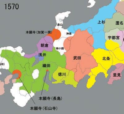 かをるんのブログ-戦国地図2