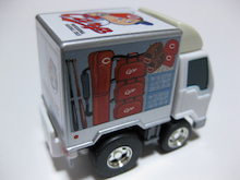 BZ19880921のチョロQコレクション-チョロQ 広島カープ 野球用具運搬車トラック 右