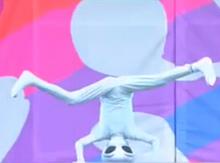 $宇宙人ゼリオの地球日記-ダンス3