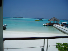 マルハバ! - from Maldives-view frm Terrace