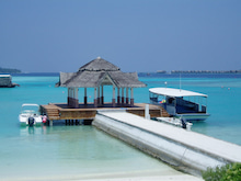 マルハバ! - from Maldives-jetty(wedding)