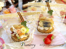 Plumerry(プルメリー)プリザーブドフラワースクール (千葉・浦安校)-シュークリーム プリ レッスン キット