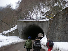 夫婦世界旅行-妻編-愛の山隧道