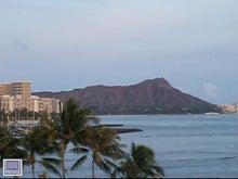 $楽園ハワイ通信 by Lani Tours-マジックアイランドから見たダイヤモンドヘッド