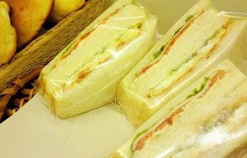 コミュニティ・ベーカリー                          風のすみかな日々-サンドイッチ