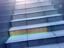 ~Kiko~林きこの英語のブログ-Spectrum on staircase?