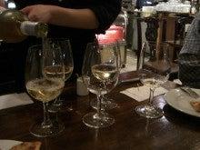東京でプチスローライフ-白ワイン2杯目