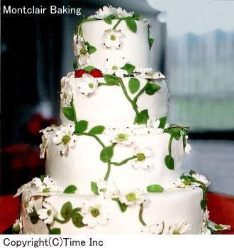 素敵なウェディングケーキの ...