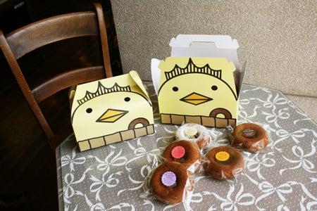 いまばりゆるきゃら バリィさんのブログ | 愛媛県今治発のキャラクターです-バリィドーナツ