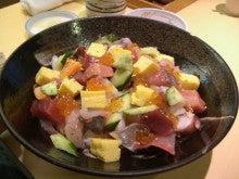 東京でプチスローライフ-妻のばらちらし寿司