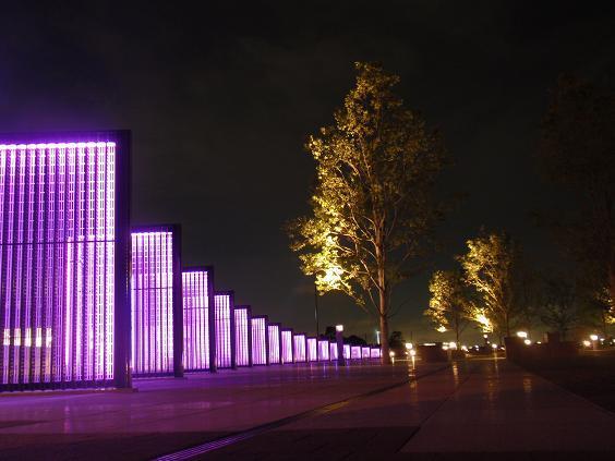 横浜ぶらり百景-象の鼻パーク夜景