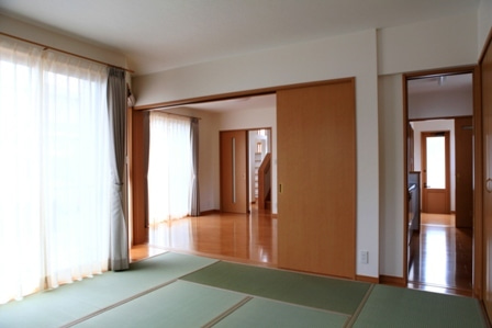 徳島県で家を建てるならサーロジック-和室より
