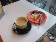 カレーがおいしい☆よねQランド-フレンチコーヒーとチーズケーキ