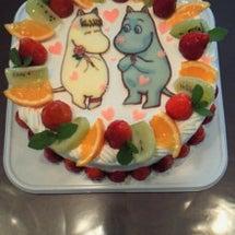 ★ムーミンケーキ★