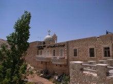 水の上を走る-セルジオ修道院