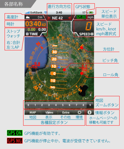 HUD ManiaX 公式ブログ iPhoneApp -各部名称 400px