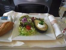 月に一度の世界スパ巡り~リュクスでエレガントな生活~-機内食2