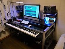 $DTM机 ◆ 自作のススメ-DTM机_angle_piano