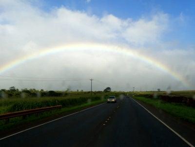 $楽園ハワイ通信 by Lani Tours-ノースの虹