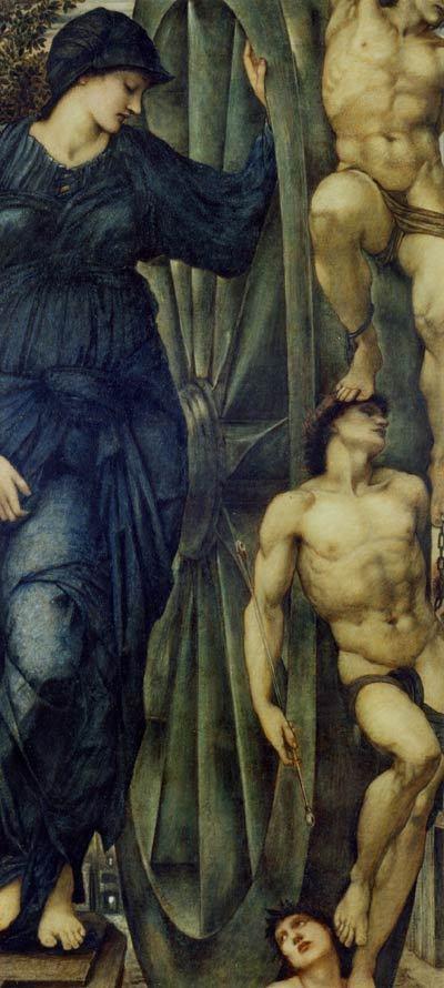 REMOVE-Sir Edward Burne Jones - The Wheel of Fortune,