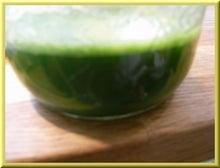 ローフード&マクロビオティックで美味しい生活♪-ウイートグラスジュース