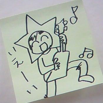 絵日記でポン-まっつんポストイット