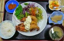 ゆーつーな日々。 -味覚飯店U2のブログ--エビフライ定食