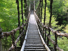 建設業ISOお助けブログ-二重かずら橋