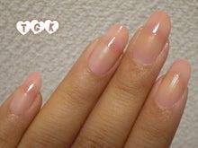 桃源郷 side-Nail-カワピンクなシロップネイル2