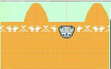 ジョウトウの右往左往-ペンギン編み図