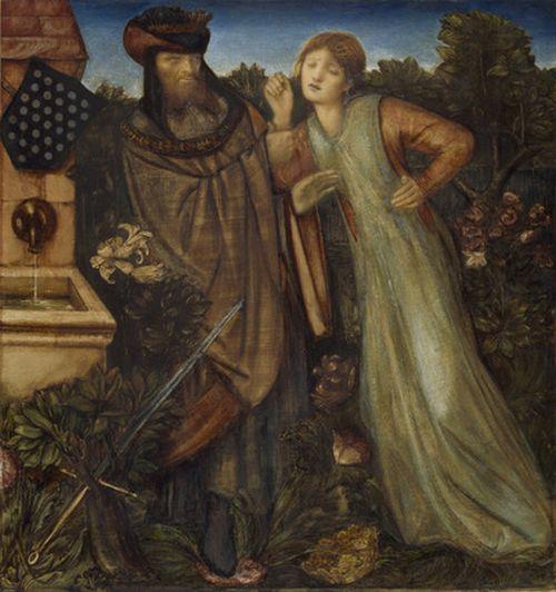 エドワード・バーン=ジョーンズ  アーサー王と円卓の騎士