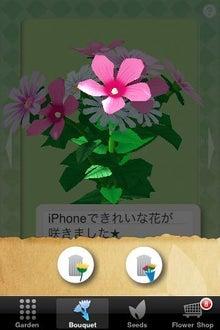 シープドッグのブログ-28 iPhone アプリ FlowerGarden フラワーガーデン