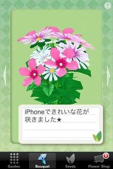 シープドッグのブログ-27 iPhone アプリ FlowerGarden フラワーガーデン