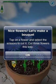 シープドッグのブログ-16 iPhone アプリ FlowerGarden フラワーガーデン